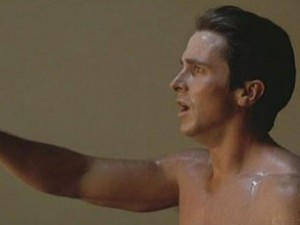 Christian Bale in Equilibrium Sunrise Scene