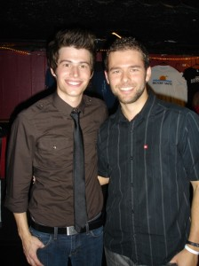 Benton Paul and I after his show at the Boardwalk