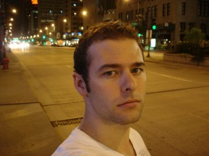 Me on the Magnificent Mile (Michigan Avenue)