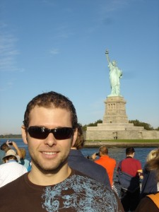 Me and the Statue of Liberty