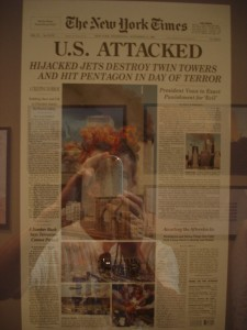New York Times 9 11 Newspaper Clipping