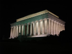 Lincoln Memorial In Washington, D.C.