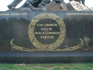 Uncommon valor was a common virtue